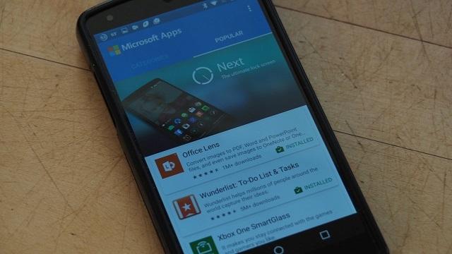 Microsoft, Google Play Store'da Kendi Uygulama Mağazası'nı Açtı