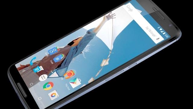 Nexus 6 Resmi Olarak Tanıtıldı