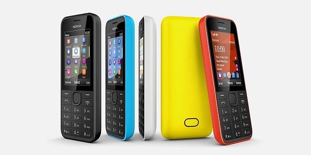 Nokia, 3G Özellikli Giriş Seviyesi Nokia 207 ve 208'i Tanıttı