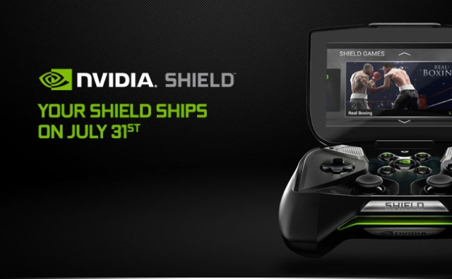 Nvidia Shield 31 Temmuz'da Satışta