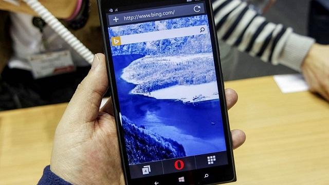 Opera Mini, Yenilenen Yüzüyle Windows Phone Kullanıcılarına Merhaba Dedi