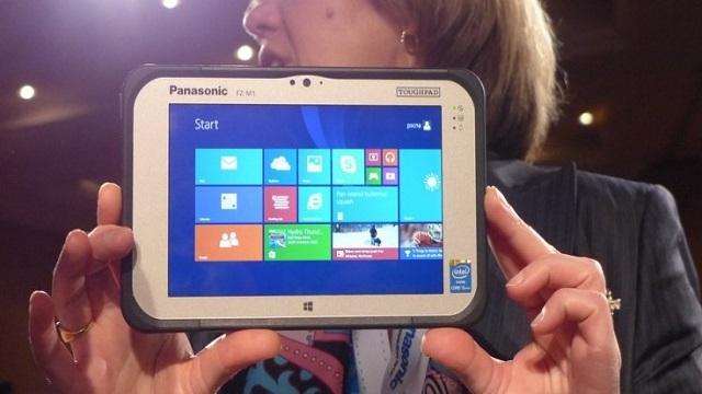 Fansız Çalışan İlk Tablet: Panasonic Toughpad FZ-M1