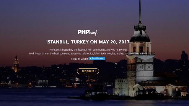 PHPKonf İstanbul PHP Konferansı 2017 Başlıyor