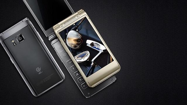 Samsung W2016 Kapaklı Telefon Resmi Olarak Tanıtıldı