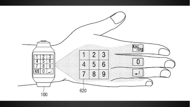 Samsung'un Yeni Patenti Akıllı Saatlerin Geleceğini Gösteriyor