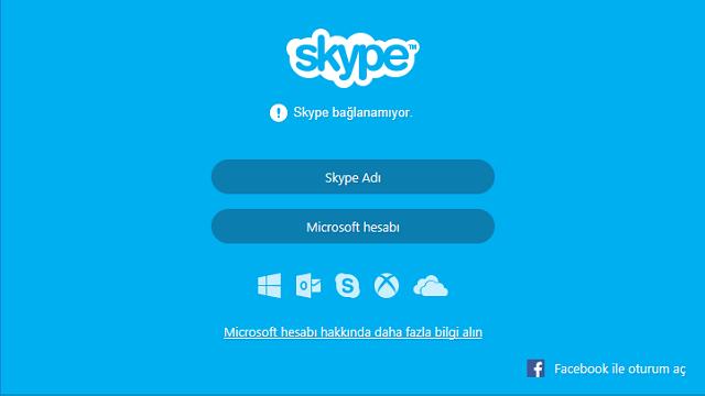 Skype Dünya Genelinde Çöktü!