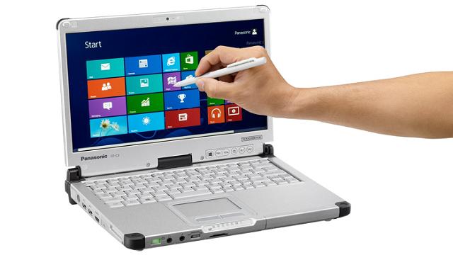 Panasonic'in Dayanıklı Dizüstü Bilgisayarı CF-C2, Güncellendi