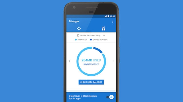 Google Triangle ile Mobil İnternet Kontrol Altında