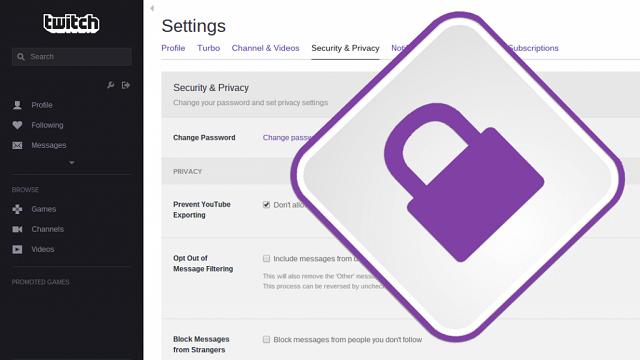 Twitch İki Kademeli Güvenlik Nasıl Etkinleştirilir?