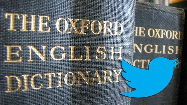 Tweet Oxford Sözlükte