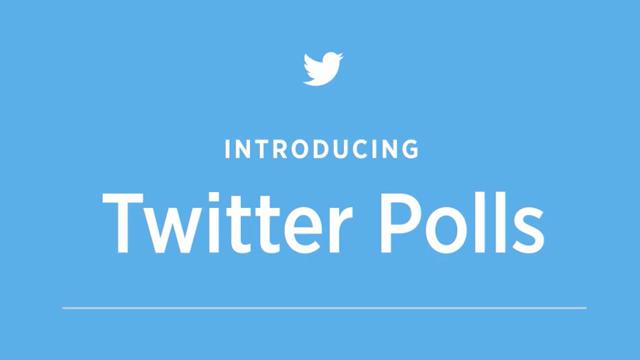 Twitter Polls Duyuruldu: Twitter'da Çok Yakında Anket Oluşturmak Mümkün Olacak