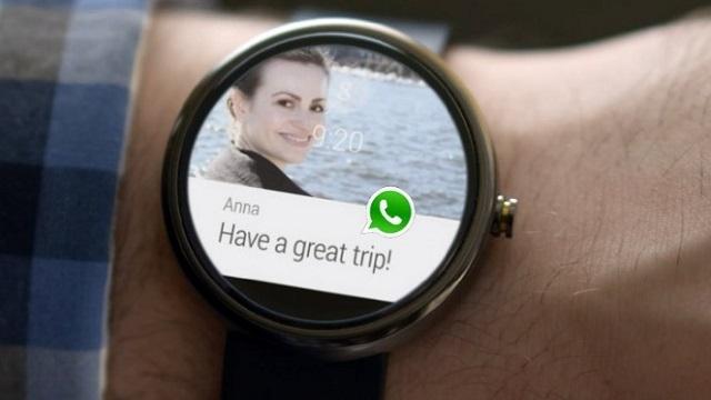 WhatsApp'a Android Wear Desteği Geldi