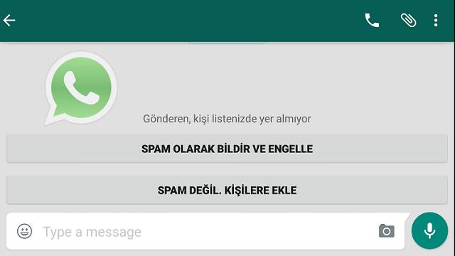 WhatsApp, Spam Bildirme Özelliği İle Tacizlere Son Verecek!