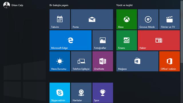 """Windows 10 Başlat Menüsü """"Açılmıyor, Kayboldu, Çalışmıyor"""" Sorunu Çözümü"""