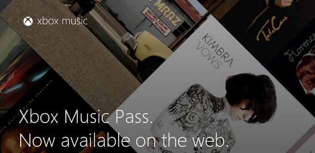 XBOX Music Web Sürümü Yayında