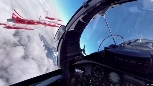 4 Dakikalığına da Olsa Bir Jet Pilotu Olmak İster misiniz?
