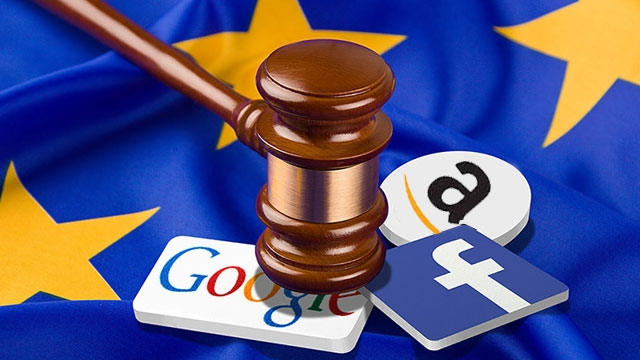 AB Komisyonu Google, Facebook ve Amazon'a Çok Fena Taktı