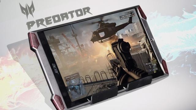 Acer Predator 8 Dünyanın İlk Oyun Tableti Olarak Tanıtıldı