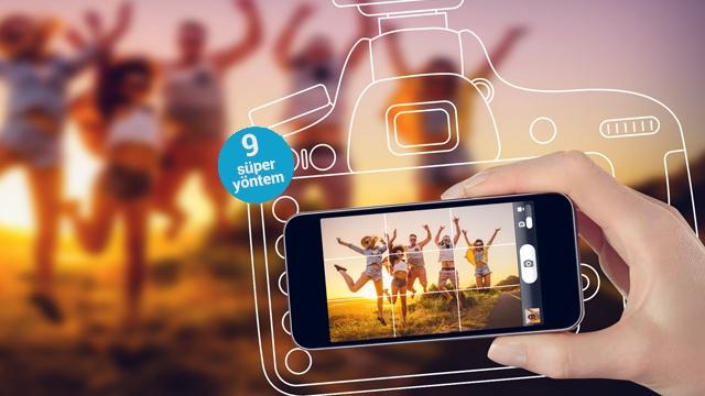 Akıllı Telefonlarla Daha İyi Fotoğraf Çekmenin 9 Yaratıcı Yolu