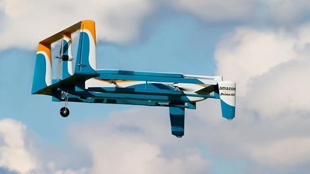 Amazon, Teslimat Drone'larıyla Evlerin İhtiyaçlarını Ev Sahibine Bildirecek