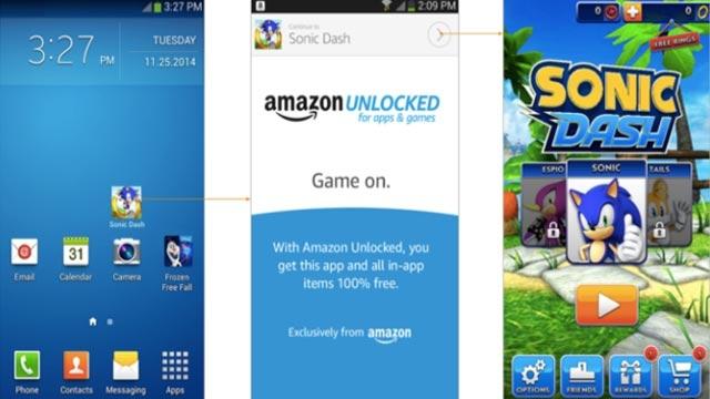 Amazon Ücretli Oyunları Bedavaya Dağıtacak Amazon Unlocked Servisini Açıyor