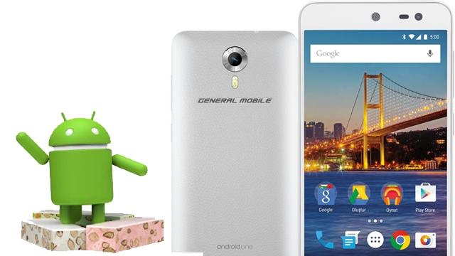 Android 7.0 Nougat Türkiye'ye 1 Eylül'de General Mobile GM 4G ile Geliyor
