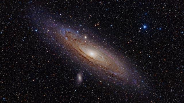 NASA Andromeda Galaksisinin En Büyük Fotoğrafını Çekti