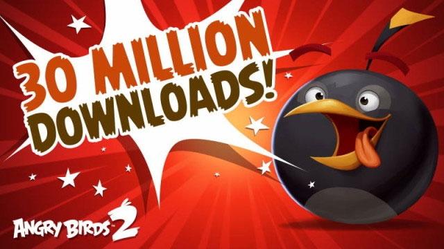 Angry Birds 2 Tam İki Haftada 30 Milyon Asabi Oyuncuyu Bir Araya Getirdi
