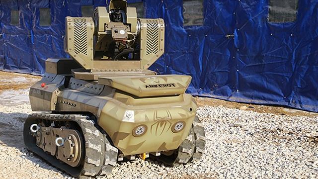 Türk Yapımı Mini Anti Terör Tankı Göreve Hazır