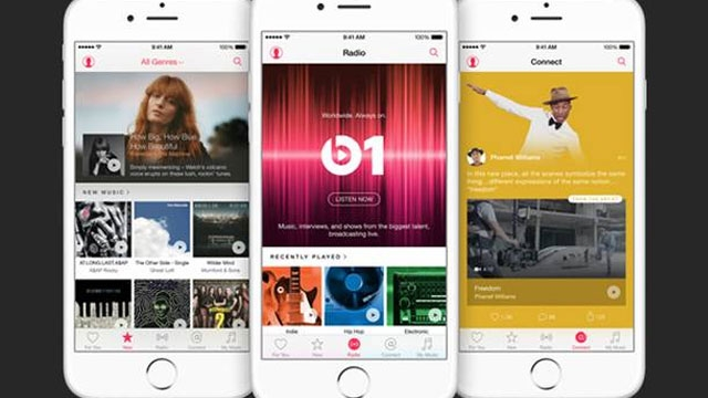 Apple'dan 7/24 Müzik, Radyo Beats1 ve Apple Music Yayına Hazır