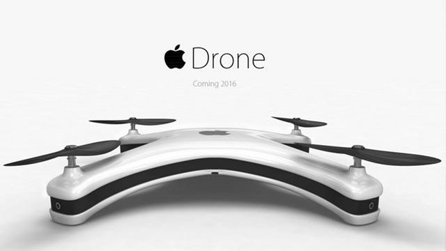 Yoksa Apple Bir Drone mu Üretiyor?