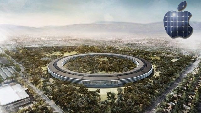 Apple Yeni Kampüsünü Tamamen Güneş Enerjisiyle Çalıştıracak