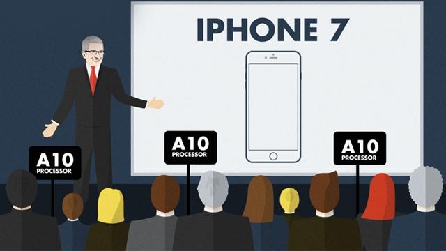iPhone 7 Şimdiye Kadar Üretilmiş En İyi Akıllı Telefon İşlemcisine Sahip Olacak