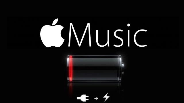 Apple Music Bir Batarya Canavarı Çıktı