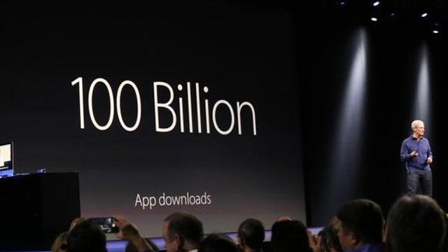 Apple App Store 1.5 Milyon Uygulamayla 100 Milyar İndirmeye Ulaştı