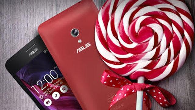 ASUS ZenFone serisi Android 5.0 Lollipop'a Geçti