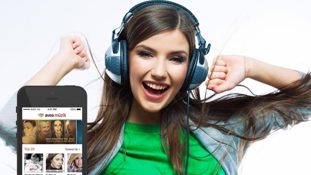 Avea Müzik Servisi'nde 1 Ay Boyunca Müzik Dinlemek ve İndirmek Bedava