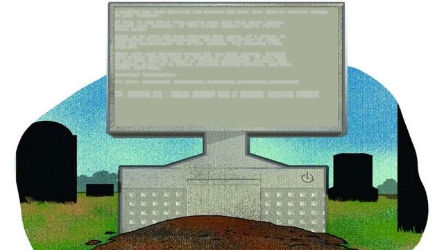 Bilgisayarlar Yaşlılıktan Ölür mü?