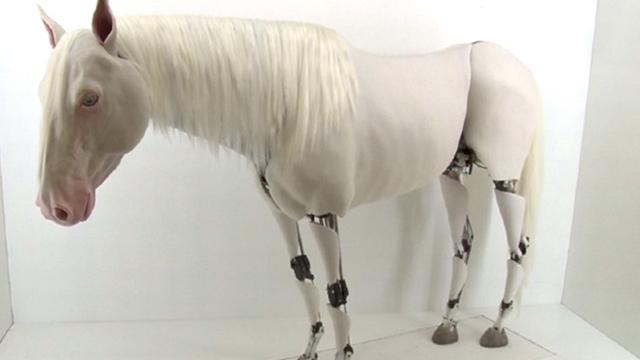 Biyonik At İstanbul'da Çağdaş Sanatın Gözdesi Oldu