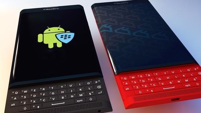 Kızaklı Klavyeye Sahip Android Telefon BlackBerry Priv Doğrulandı