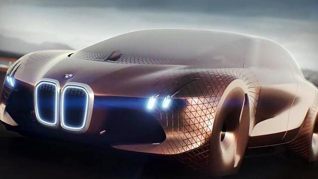 BMW'nin Yeni Konsept Arabası Vision Next 100 Hayal Dünyamızı Zorluyor