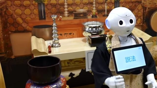 Japonya, Cenaze Törenleri için Robot Din Adamı Geliştirdi