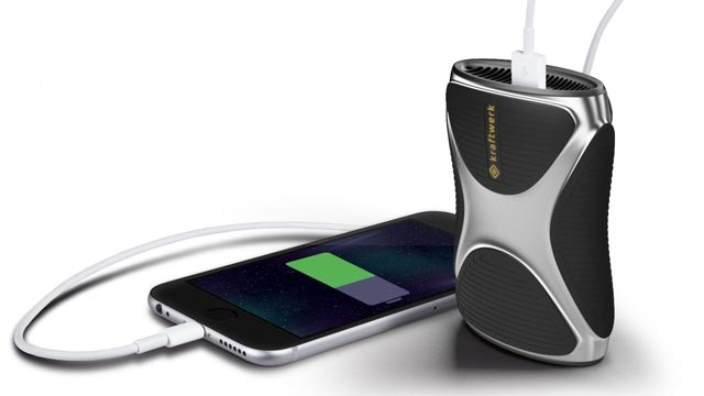 Bütan Gazıyla Akıllı Telefon Şarj Eden Kraftwerk