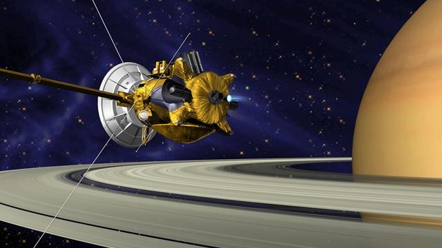 Cassini, Satürn Gezegenine Dokundu!