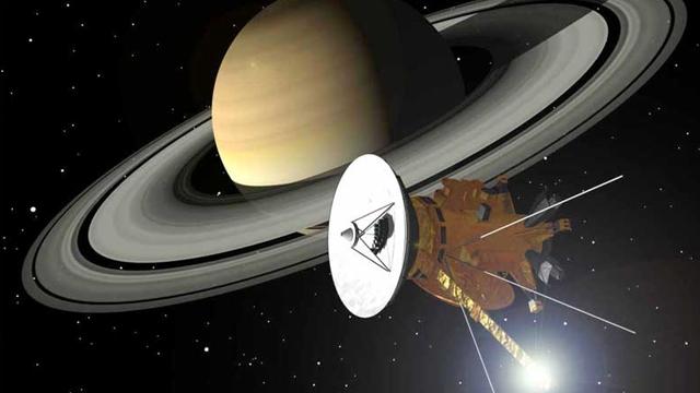 Yeni Google Doodle'ı Cassini'den Dünya Böyle Görünüyor