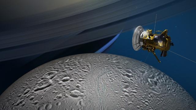 Cassini İntihar Uçuşuna Hazır!