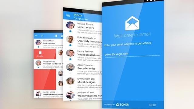 Android'de Gmail'e Elveda, Cyanogen Boxer'a Merhaba
