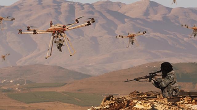 ABD'de Sıcak Çatışmaya Girebilen Bir Drone Üretildi