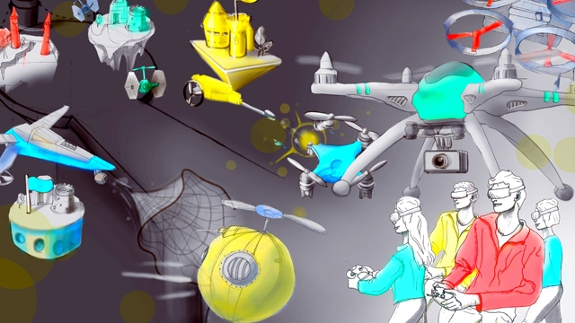 Bu Çılgın Yarışta Hiçbir Drone Havada Kalamayacak!