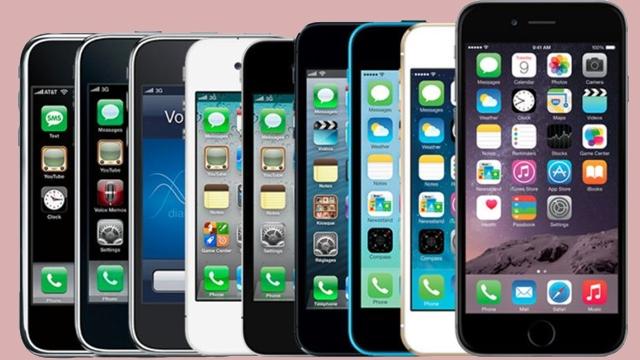 8 Yıl İçinde iPhone Kendini Nasıl Yeniledi, İşte Rakamlarla Apple iPhone'un Dünü ve Bugünü